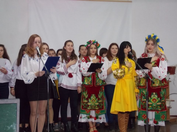 """We love Ukraine. We sing, we play!"""